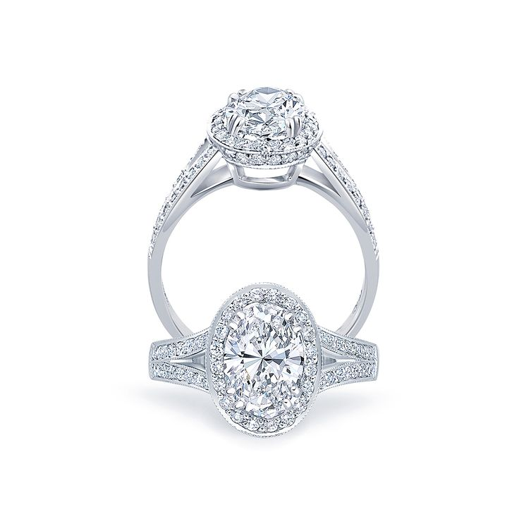 The #Vintage Oval #Ring   #diamond #engagement   #paulbram