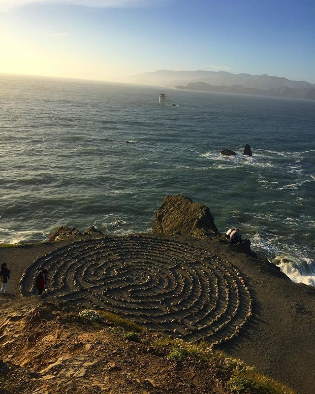 #sanfransisco #pacificbeach #labyrinth #landsend #pacificbeachlocals #sandiegoconnection #sdlocals #sandiegolocals - posted by Stella Kechagia  https://www.instagram.com/stella.keh. See more post on Pacific Beach at http://pacificbeachlocals.com