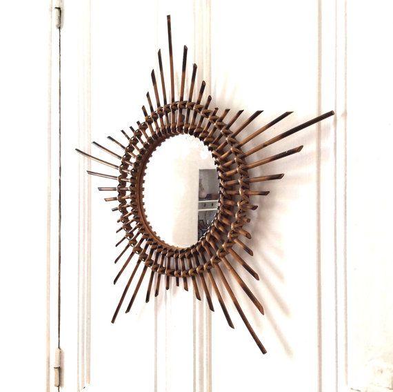 17 meilleures id es propos de miroir soleil sur for Miroir mural soleil