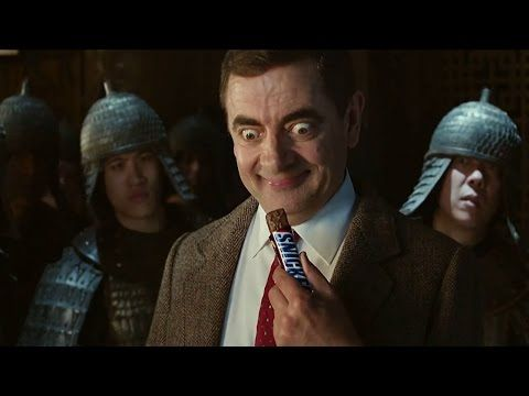 Brit Telly: Mr Bean Returns - Sort of - In Series of Commercials for Snickers - Videos Inside - Anglotopia.net