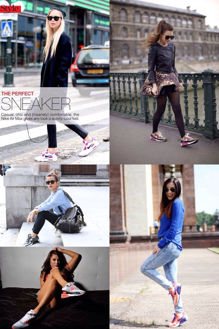 Air Max Style Girl