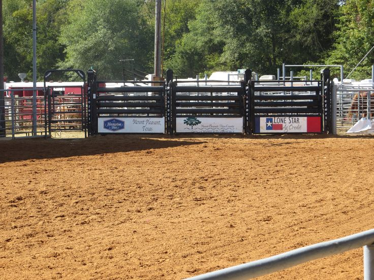 Pittsburg, TX Arena, Bucking Chutes https://www.priefert.com/products/roping-and-rodeo-equipment