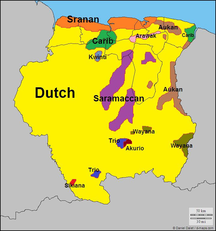 Best Maps Of Suriname Images On Pinterest South America - Suriname map