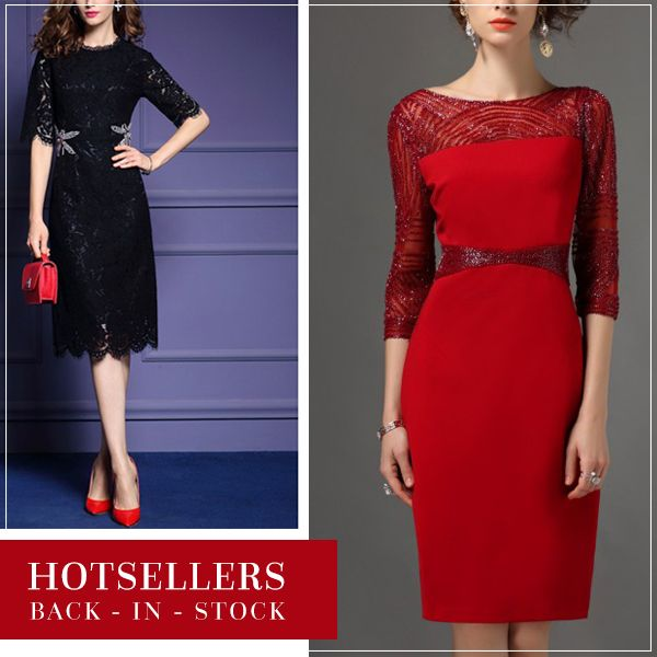 Our hotseller dress is back in stock ! Grab it before someone else does.