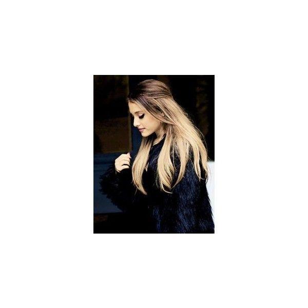 Fatos Sobre Ariana Grande ❤ liked on Polyvore featuring ariana, ariana grande and hair