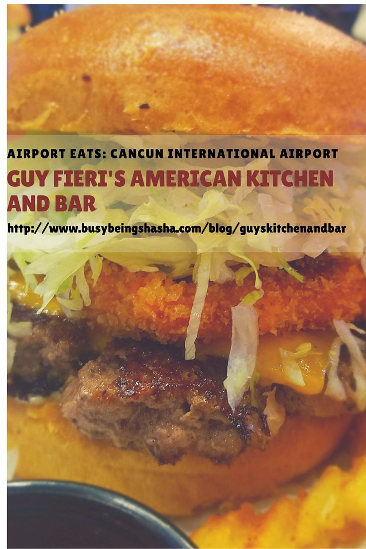 Looking for a place to eat inside of the Cancun International Airport? Check out my review of Guy's Kitchen and Bar