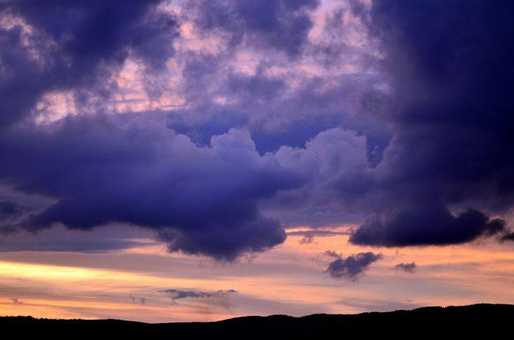 Evening sky - Sfantu Gheorghe