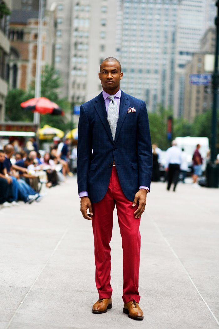 Red Pants | Men Playing In The Closet | Pinterest | Sartorialist Red Pants And Navy Blazers