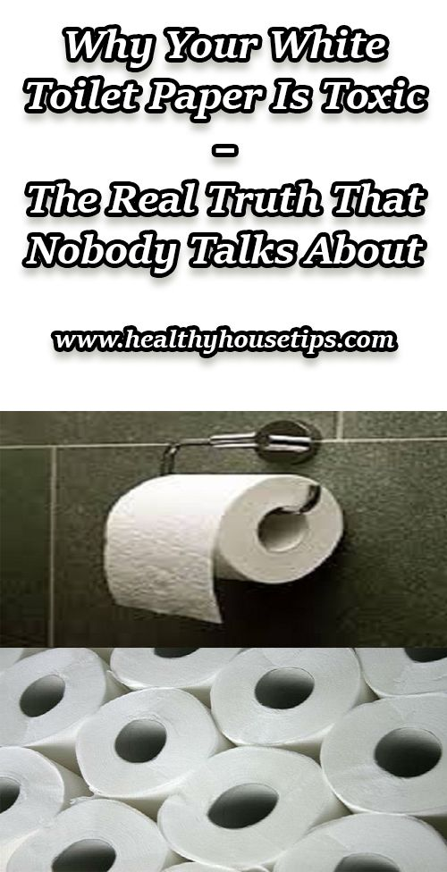 Why Your White Toilet Paper Is Toxic – The Real Truth That Nobody Talks About