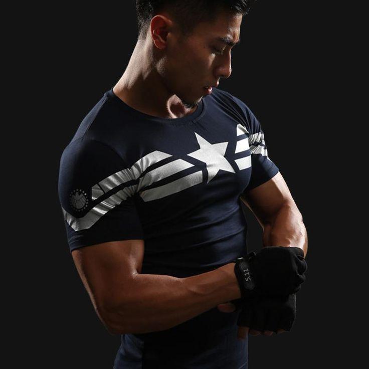 3D Men Fitnes Shirts