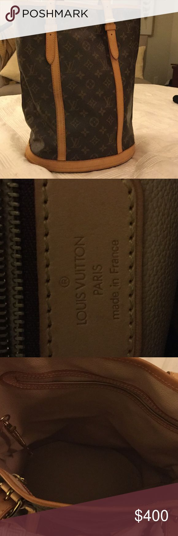 Louis Vuitton Large Bucket Bag Classic Bucket Bag Louis Vuitton Bags Shoulder Bags