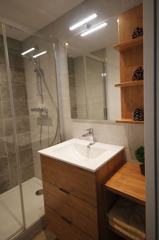Meuble de salle de bains pratique avec 3 tiroirs de rangements et ...