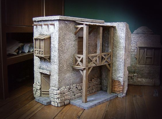 420 best images about doll houses and furniture on for Construccion de casas paso a paso