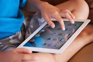 anak kreatif dan imajinatif di zaman penuh Ipad, tablet samsung