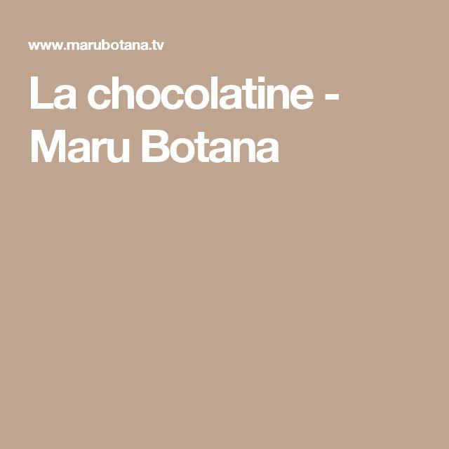 La chocolatine - Maru Botana