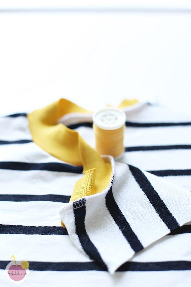 Kaksoisneulalla ompelu