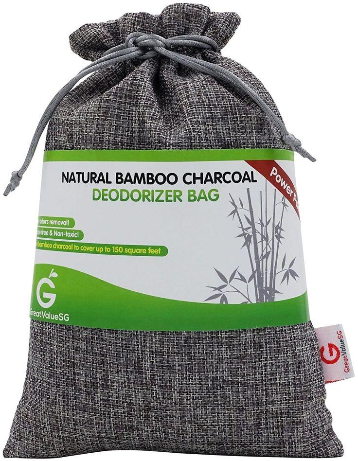 8. SG Natural Bamboo Charcoal Deodorizer Bag Power Pack