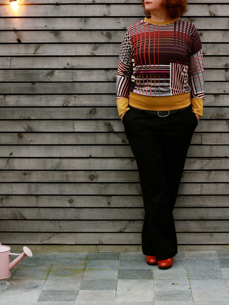 Julia sweater for women, pattern by Compagnie M, sewn by billiepop