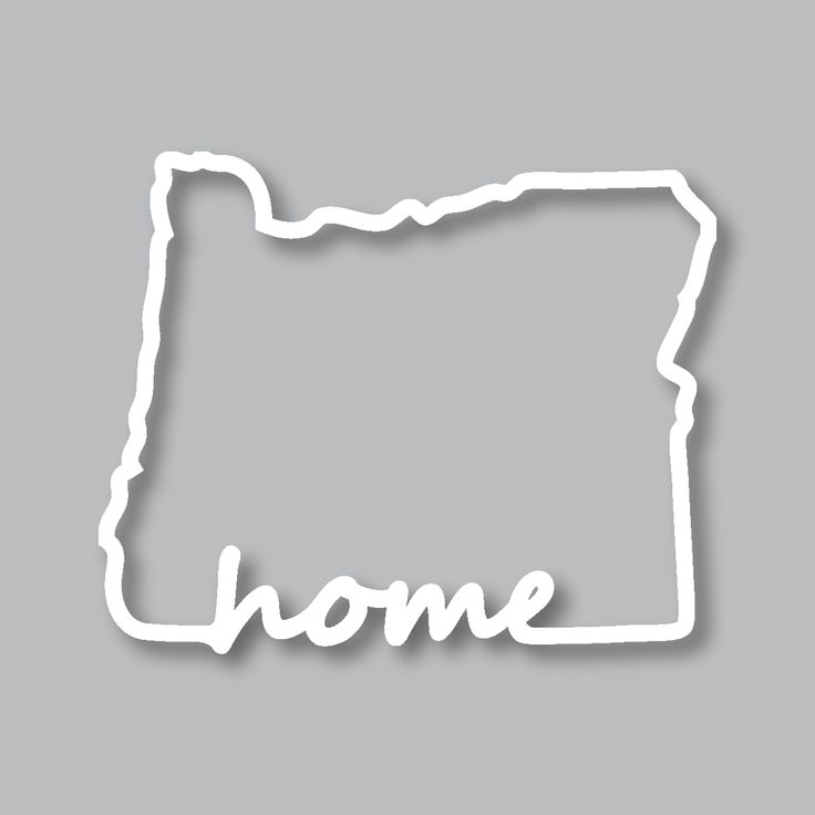 Our Oregon Home Diecut Sticker will bring your love for Oregon everywhere you go. Perfect for those who love nothing more then the beautiful state of Oregon. These are available on our website along with all our other Pacific Northwest items at www.stickersnorthwest.com
