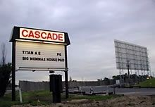 Cascade Drive In.  West Chicago, IL.