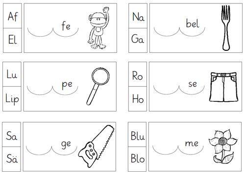 zaubereinmaleins designblog deutsch unterricht silben