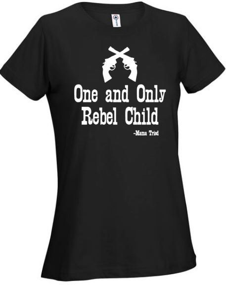Mama Tried One and Only Rebel Child Merle Haggard Country Music Country Tee Music Tshirts Song Lyrics Mama Tried Pistols Tshirt Outlaw