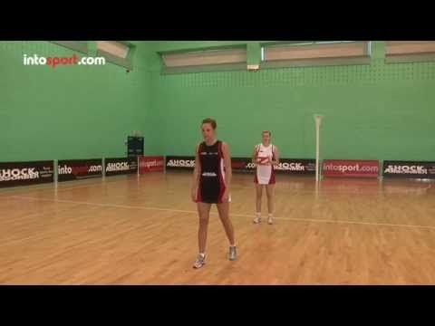 Netball Skills: Reaction Pass Drill - YouTube