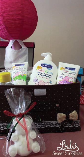 #Loulis_Sweet_Surprise #diaper_cake #baby_shower