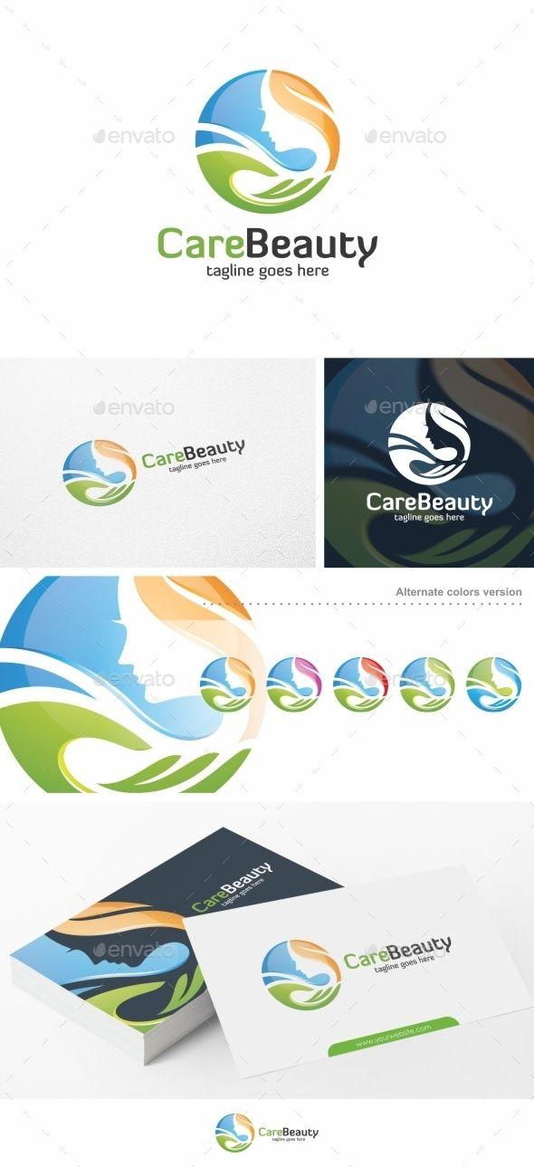 Care Beauty - Logo Template