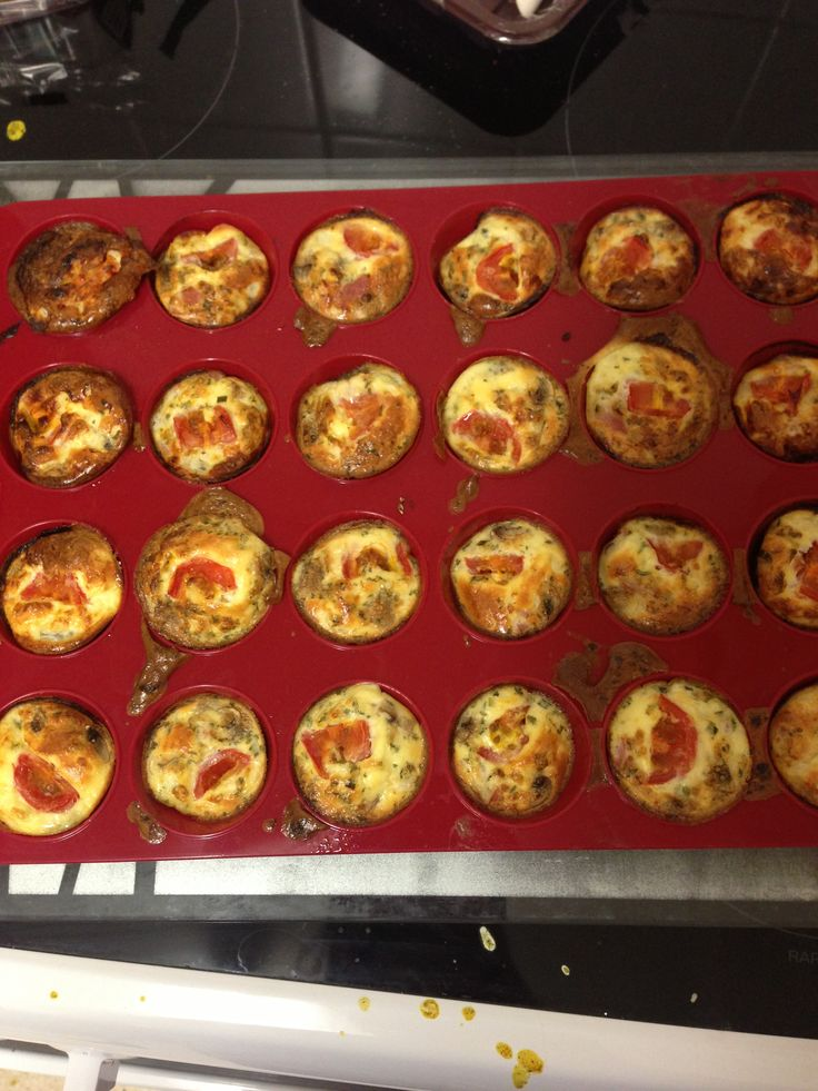 Slimming world Syn free mini quiches, recipe (to make 30 for buffet) 7 eggs 250g tub of fat free cottage cheese with chives Chopped ham  Chopped mushrooms Chopped spring onion Cherry tomatoes quartered Frylight Parsley  Preheat oven to 190 Spray frylight on the tray Distribute the chopped veg and ham evenly across the individual compartments in the tray Mix the eggs, cottage cheese and parsley in a big jug Pour over the veg and ham Add a quarter of tomato on top of each Bake for 15/20…