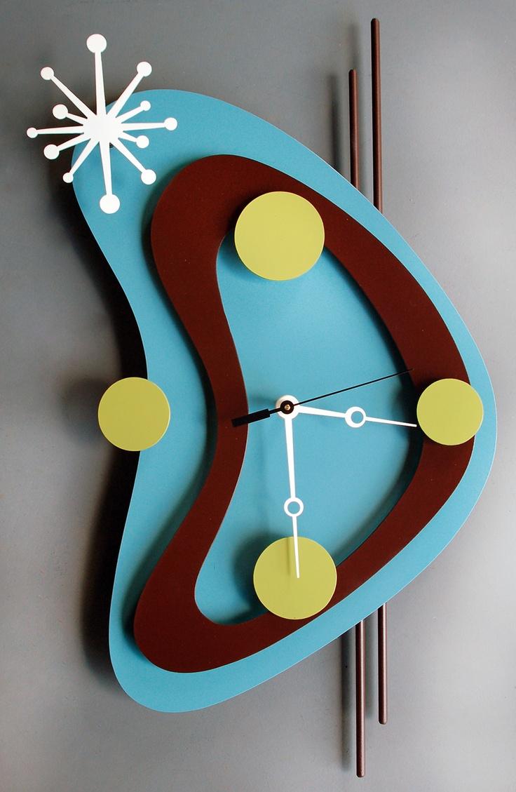 38 best Atomic clock images on Pinterest | Wall clocks, Clock ideas ...