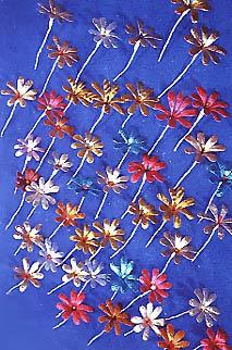 Fiori di carta stagnola di Ivano Vitali - 1978