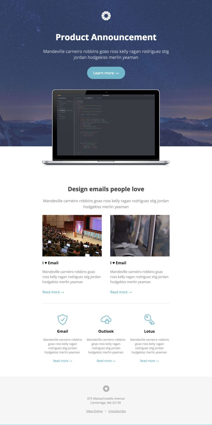 29 best Email Templates images on Pinterest | Email templates, Email ...