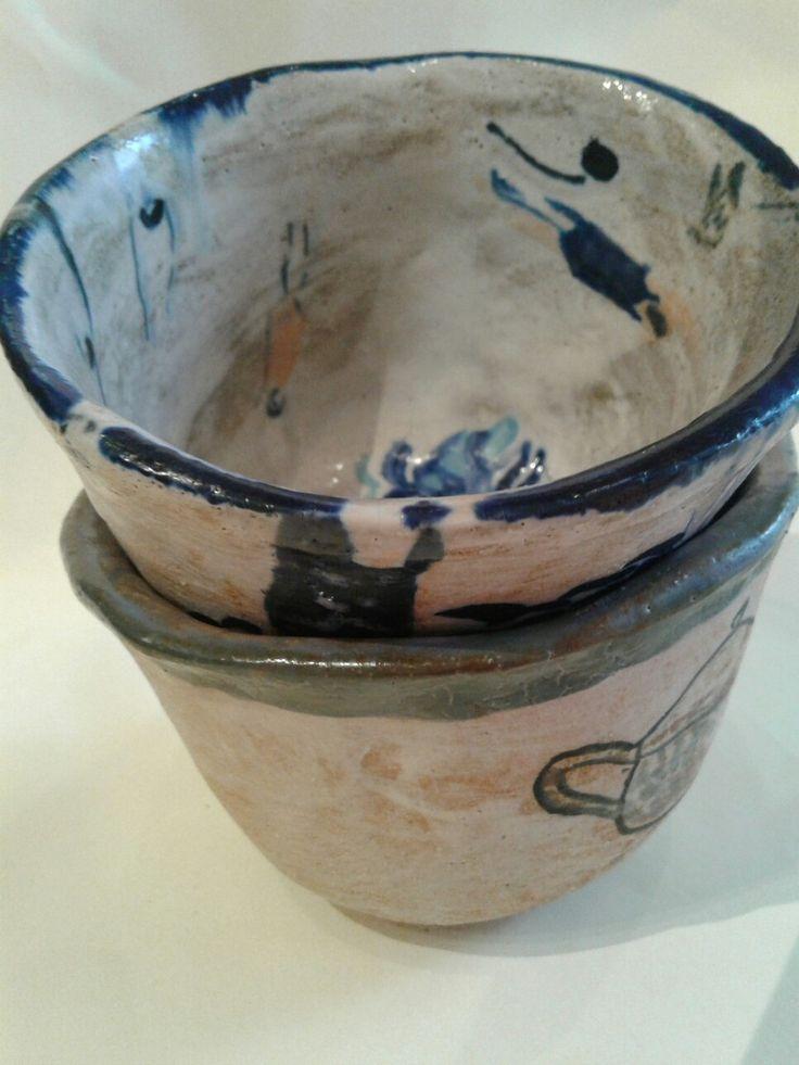 Jasmin tea with handmade stoneware by lourdes ral