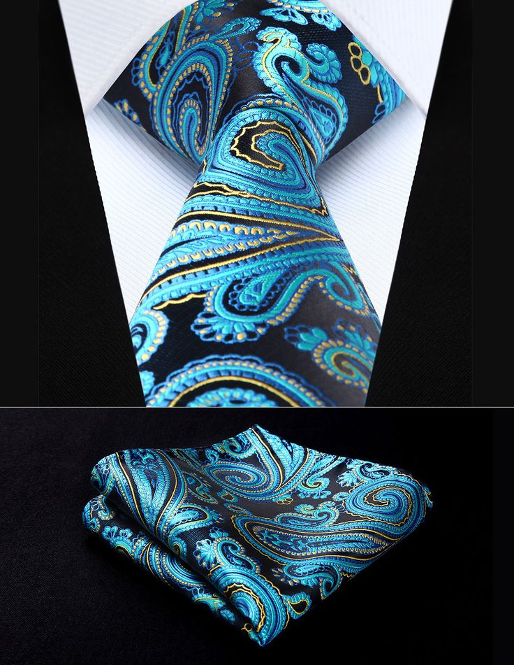 Mens Silk Pocket Square - Everyday Party (Silk) by VIDA VIDA Wyy2D