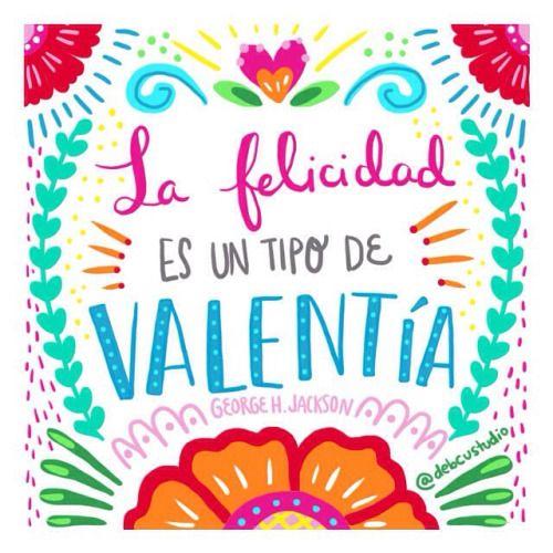 ¡Que tengan una semana muy feliz! #lunesmotivacionoso #debcursi #illustration #ilustracion #frases #quotes #mexico #debcustudio (en www.facebook.com/debcustudio)