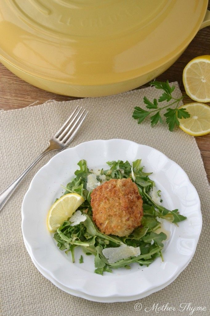 Chicken Milanese Meatballs with Lemon Butter Sauce