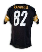 Antwaan Randle El Autographed Jersey - Black Throwback - Autographed NFL Jerseys //  Description Antwaan Randle El Pittsburgh Steelers Autographed Black Throwback Jersey Autographed. Comes fully certified with a Athletic Promotional Events certificate of authenticity. //   Details  Brand: Sports Memorabilia  Features  100% Certified Authentic and Backed by our Sports Memorabilia Authenticity Guara// read more >>> http://Valliere78.iigogogo.tk/detail3.php?a=B009PL64ZU