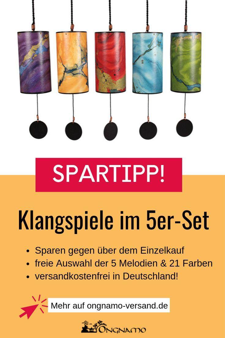 Zaphir Klangspiel Im Original Shanti Design 5er Spar Set Klangspiel Klang Schone Geschenke