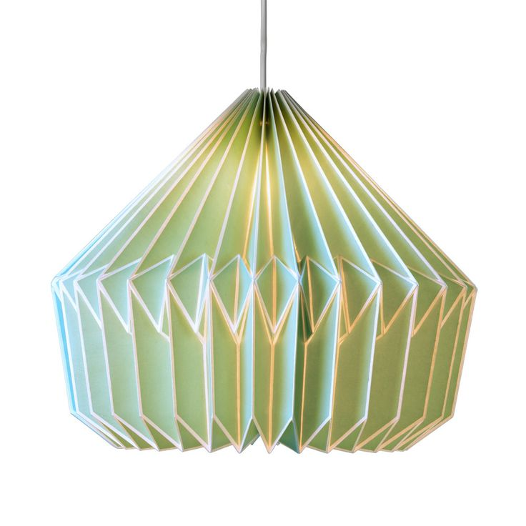 Caspian Swedish Green Lamp Shade – Funky Lamp Shades