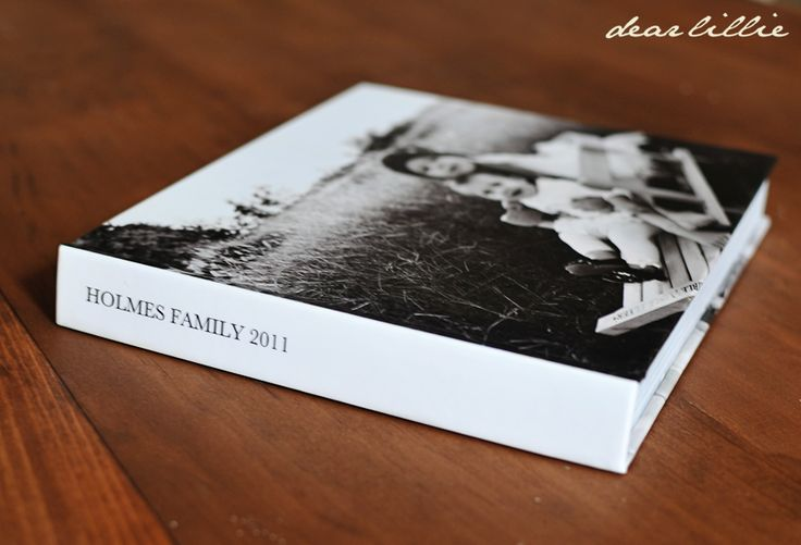 Dear Lillie: Making a Photo Book