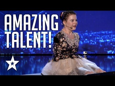 Girl With No Arms Sings & Plays Piano With Her Feet | Romania's Got Tale...
