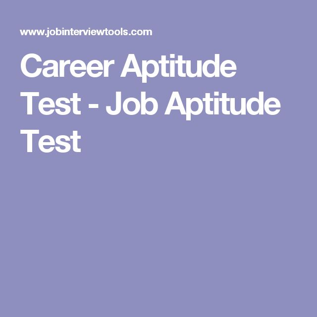 Best 25+ Job aptitude test ideas on Pinterest Career aptitude - job test