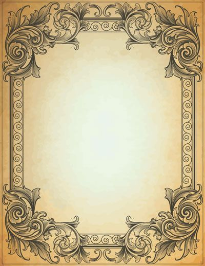Quality Graphic Resources: Vintage Frame
