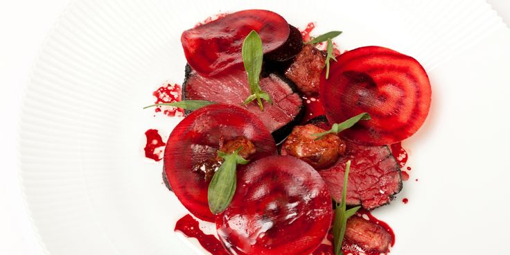 Christoffer Hruskova's extravagant and beef fillet recipe includes a daring smoked bone marrow and beetroot sauce. An…