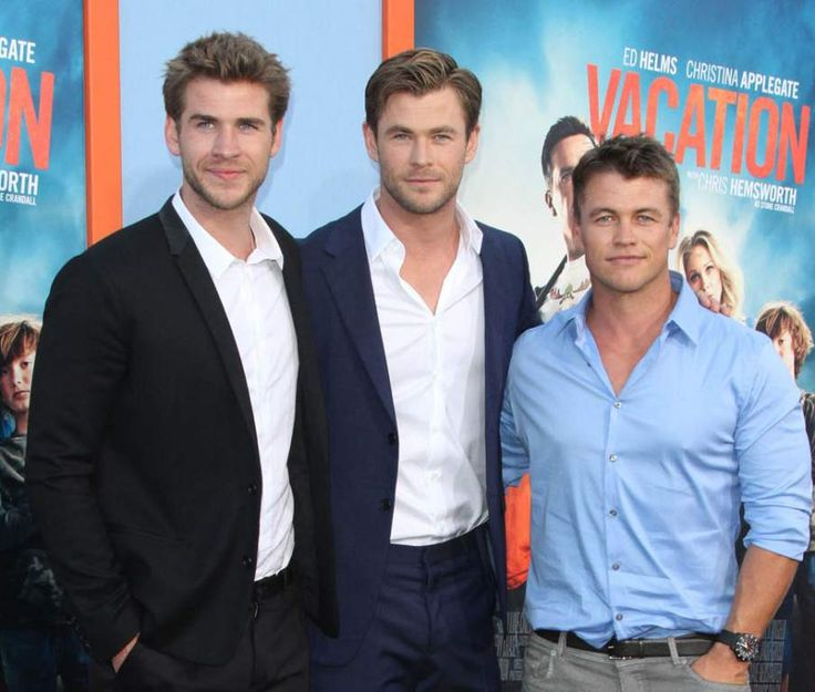 Liam, Chris and Luke Hemsworth (Actors)