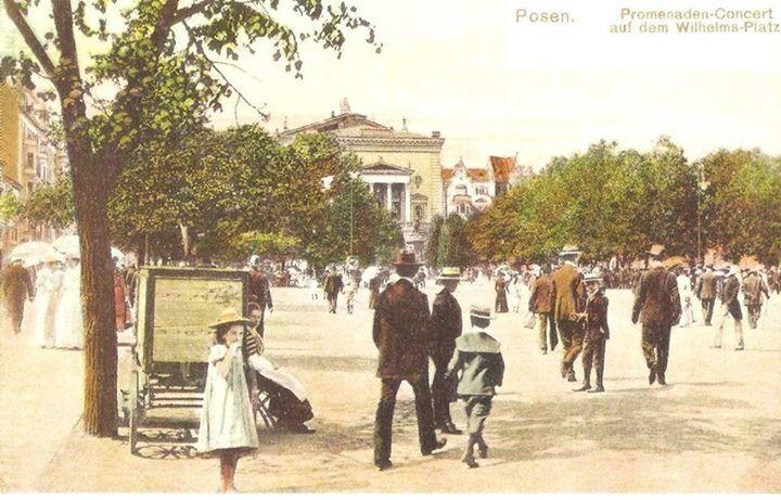 Plac Wolności około 1910 roku