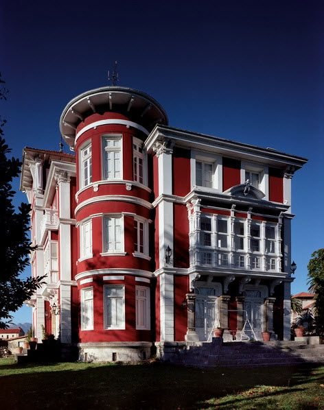 Villa Teresa, casa indiano, Colombres