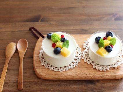 簡単レア豆腐ケーキ レシピ