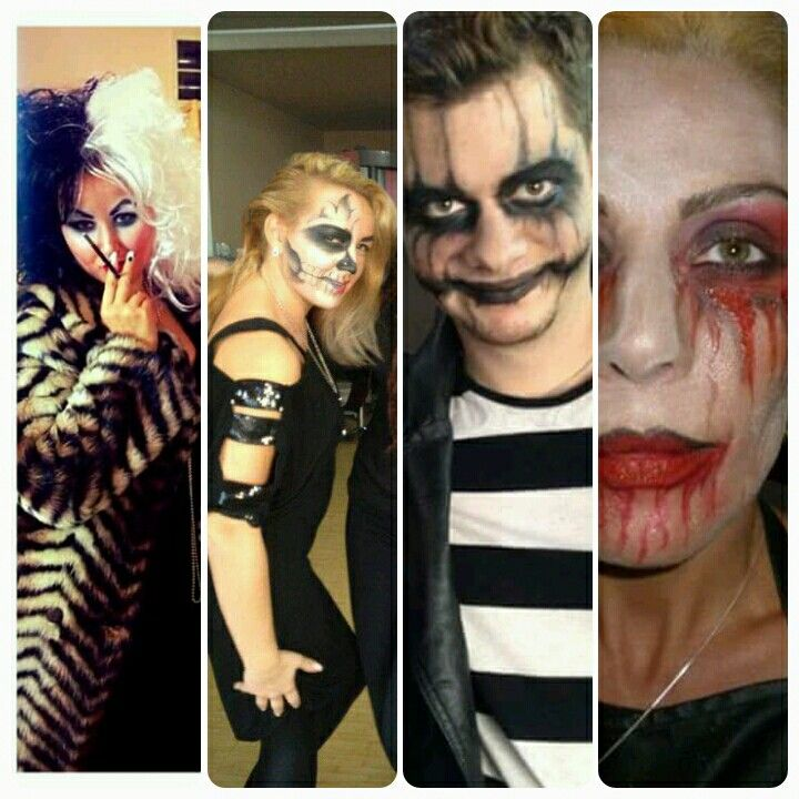 #blood #halloweenmakeup #joker #cruelladevil #danilolusitostudio